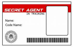 green gourmet giraffe detective spy party magnifying With spy id card template