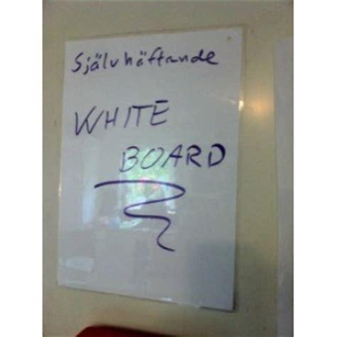 sjaelvhaeftande whiteboard