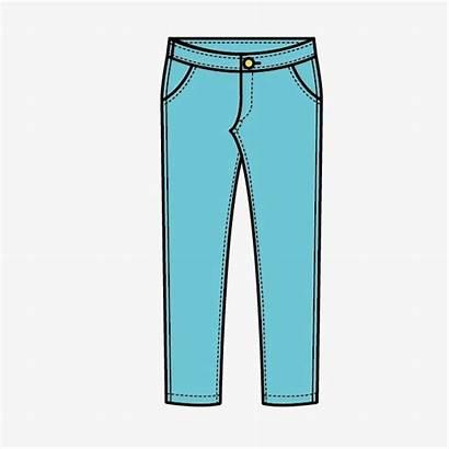 Pants Clipart Cartoon Pant Clothes Cliparts Clip