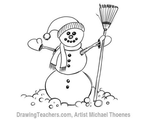 draw  snowman