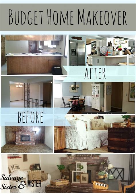 3 Hour Home Makeover by Budget Home Makeover Tips New Kitchen Ideas