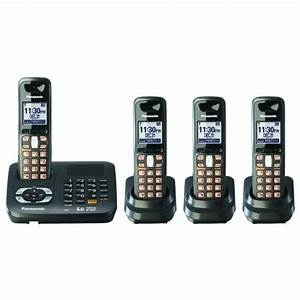 Uniden Cordless Phones Manual  Panasonic Dect 6 0 Black