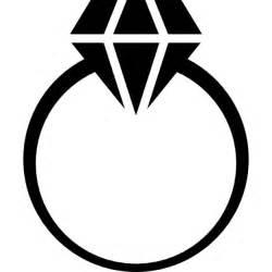 wedding ring white gold diamond ring icons free