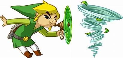 Zelda Link Whirlwind Spirit Tracks Toon Legend