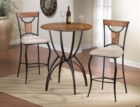 Chace 3pc Dining Set  Beige  Bistro Table Set