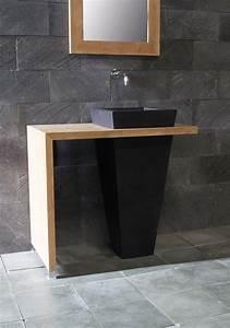 Waschtische Holz Mit Aufsatzwaschbecken : naturstein waschbecken von spa ambiente ~ Lizthompson.info Haus und Dekorationen