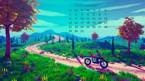 December 2018 Calendar Wallpapers - Wallpaper Cave