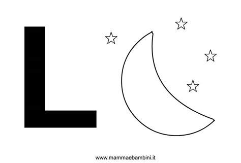 La Da L by Lettere Alfabeto Con Disegni La L Mamma E Bambini