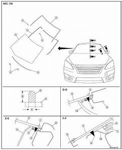 Nissan Sentra Service Manual  Windshield Glass