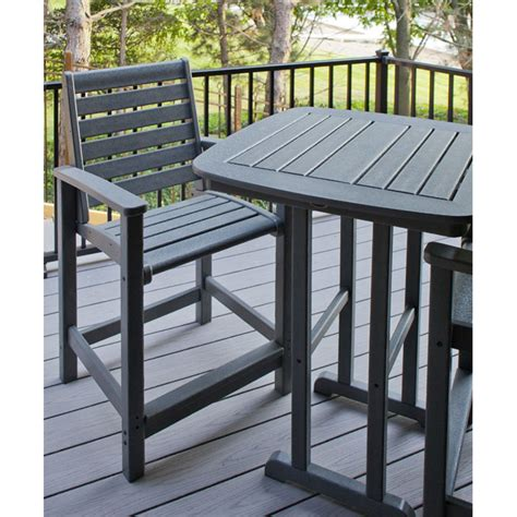high top table chairs patio furniture high top table and chairs marceladick com