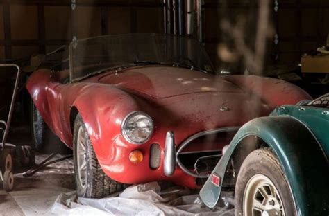 mile garage find  shelby  cobra