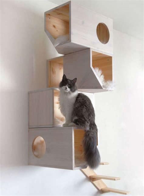 arbre a chat design bois arbre a chat bois design