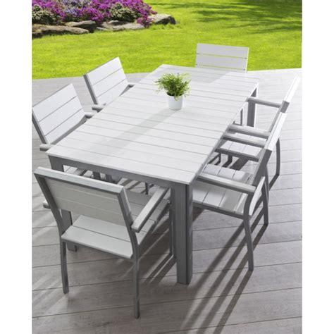chaise jardin leclerc beautiful table de jardin plastique blanc leclerc ideas