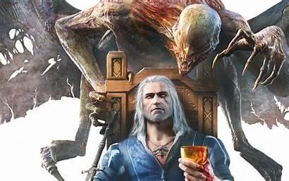 Witcher Geralt Blood Wine Hunt Wild 1680