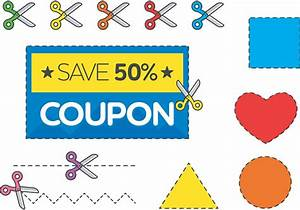 Scissors and Discount Coupon Vector Free - Download Free ...