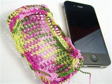 Free Mobile Cover by 35 Adorable Crochet Mobile Phone Covers Diy To Make