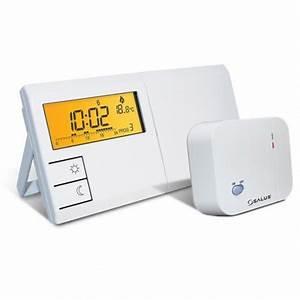 Elektronisches Thermostat Mit Fernfühler : salus elektronisches funk raumthermostat mit wochenprogramm probaumarkt ~ Eleganceandgraceweddings.com Haus und Dekorationen