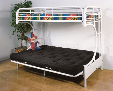 futon bunk bed high end bunk bed with futon and desk