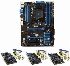 Msi Full Fm2  Military Class 4 Motherboards Are Out
