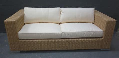 canapé en résine tressée canape resine tressee la maison du teck meuble et déco