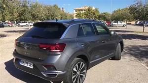 T Roc Gris Indium : volkswagen new t roc 2018 sport indium grey 19 inch suzuka details youtube ~ Medecine-chirurgie-esthetiques.com Avis de Voitures