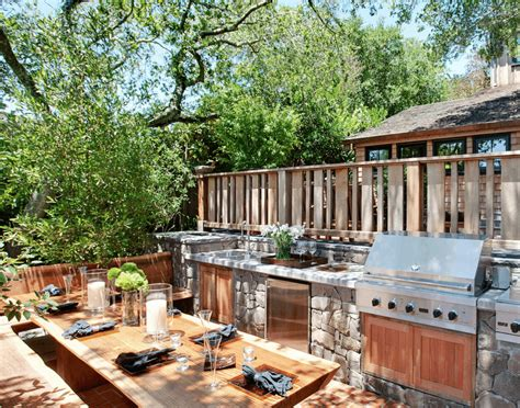 Country Kitchen Color Ideas - 27 best outdoor kitchen ideas and designs for 2018