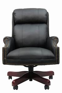 B980 cp boss traditional executive high back plush for Plush office chair