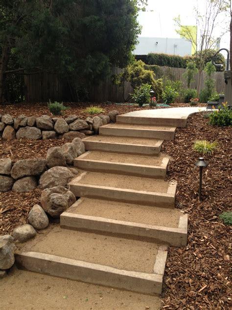 walkway steps dg walkway and steps our landscaping work pinterest