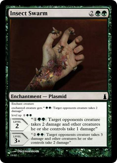 Mtg Insect Swarm Deck by Insect Swarm Plasmid Mtg Card By Dixyn0rmous On Deviantart