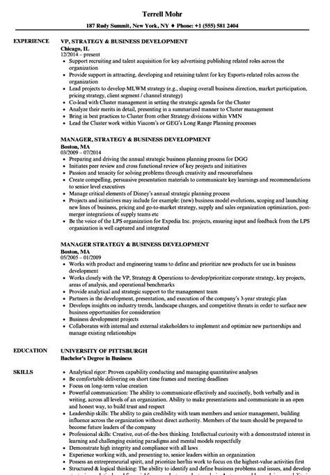 Business Development Resumes by Business Development Resume Eezeecommerce