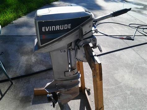 9.9 Evinrude Outboard For Sale