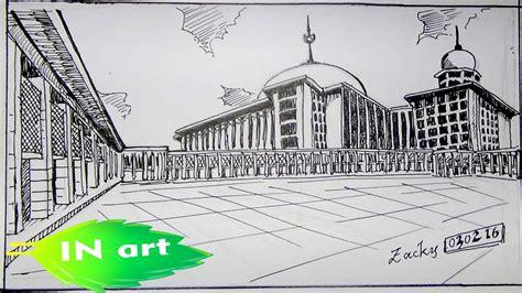 Inspirasi Karikatur Gambar Masjid