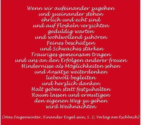 wunderschoene und besinnliche weihnachten gedicht