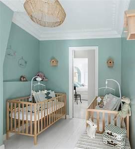 decoration couleur vert d39eau fraiche et tendance With chambre couleur vert d eau