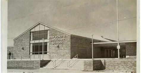 Raymond J. Lockhart Elementary School, 1957. Photo by