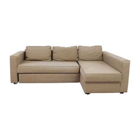 Sectional Sofa Sleeper With Storage by Ikea Manstad Sleeper Sofa With Chaise And Storage Manstad