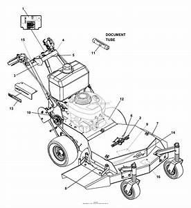 Bunton  Bobcat  Ryan 933011 15hp Kohler Gear Drive