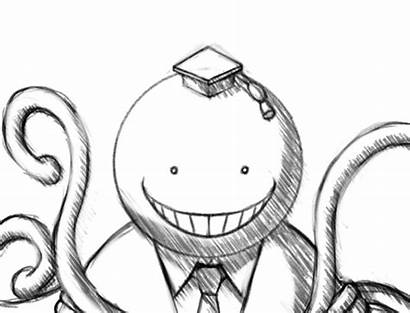 Koro Sensei Classroom Deviantart Assassination Manga Anime