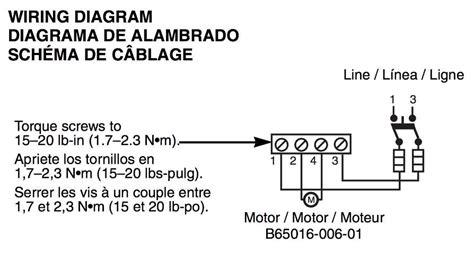 wiring diagram   volt submersible pump