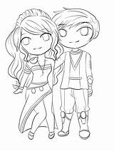 Couple Couples Coloring Pages Chibi Cute Lineart Drawing Anime Adorable Deviantart Template Drawings Sketches Sheets Relationships Getdrawings Sketch Getcolorings Manga sketch template