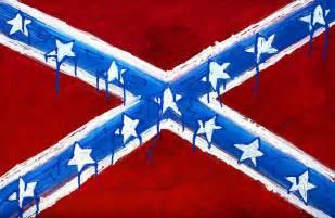 Drawing Rebel Confederate Flag