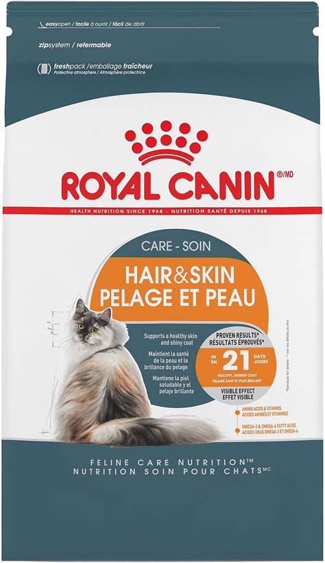 royal canin hair and skin royal canin hair skin care cat food 7 lb bag chewy