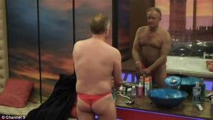 Bobby Davro Gets His Bum Out For Sherrie Hewson In The