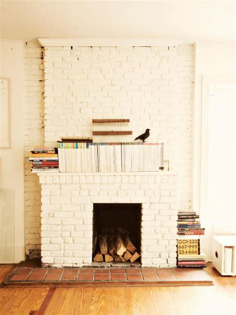 painted brick fireplace 15 gorgeous painted brick fireplaces hgtv s decorating