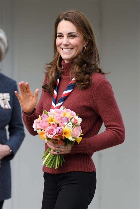 Kate Middleton Visits With Scouts March 2019 | POPSUGAR ...