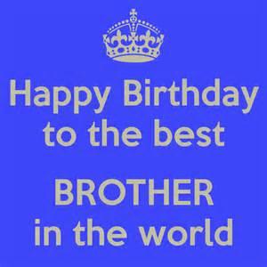 Happy Birthday Best Brother