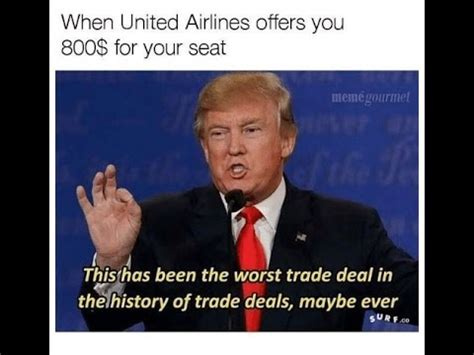 Funny United Airlines Memes - airlines meme funny viral united airlines meme airplane funny youtube