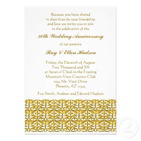 27 best Anniversary Invitations images on Pinterest