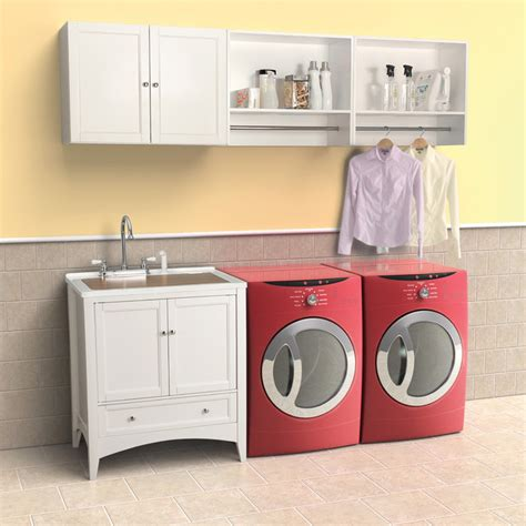 Berkshire White Laundry Vanity By Foremost Contemporary