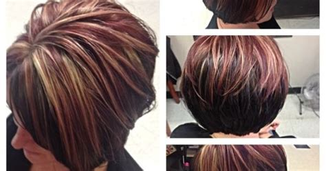 Asymmetrical Bob By Courtney Curtis And Highlights